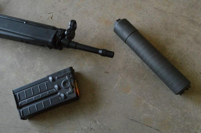 SIG SRD762Ti silencer