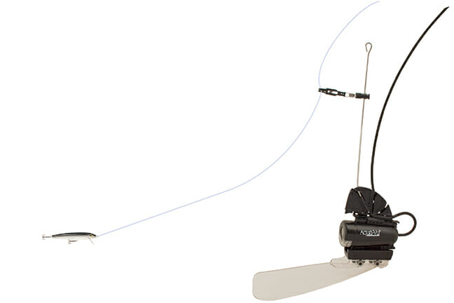 The Aqua-Vu XD Live Strike accessory lets anglers watch fish react to lures and baits in real time.